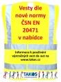 Informace k používání reflexní vesty do auta