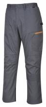 Montérkové kalhoty TEXO SPORT Danube do pasu šedé velikost M