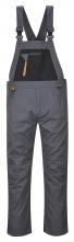 Montérkové kalhoty TEXO Sport Rhine s laclem šedo/černé velikost xl