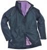 Dámská bunda ELGIN 3 v 1 dámská tmavě modro/fialová velikost XL