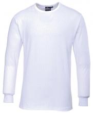 Triko Thermo dlouhý rukáv příjemný materiál bílé velikost XL