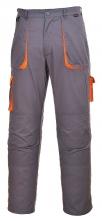 Montérkové kalhoty TEXO Contrast do pasu šedo/oranžové