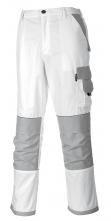 Montérkové kalhoty CRAFT do pasu PES/BA 300g bílo/šedé