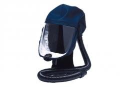 Kukla dýchací Sundström SR 520 čirý zorník krátký látkový vrchlík tmavě modrá M/L