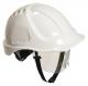 Ochranná průmyslová přilba Endurance Plus Visor ABS oční štít podbradní pásek račna bílá