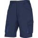 Montérkové kraťasy Bermuda MACH 2 PES/BA šikmé kapsy tmavě modré velikost XXXL
