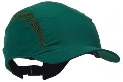 Čepice se skořepinou PROTECTOR FB3 CLASSIC zkrácený kšilt zelená