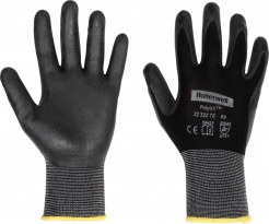 Rukavice Honeywell POLYTRIL AIR SKIN úplet nylon/prodyšný nitril černé velikost XL