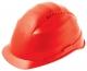 Ochranná přilba ROCKMAN C6 HDPE 12 ventilačních otvorů látkový kříž červená