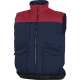 Vesta SIERRA 2 NEW s kapsami u pasu i na prsou zateplená tmavě modrá/červená