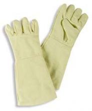 Rukavice prstové KK-4 500°C kontaktní tenká podšívka 400 mm žluté