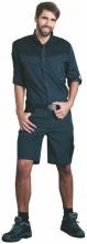 Kraťasy CXS Sirius Elias pracovní zesílené krátké kalhoty PES/BA šedo/zelené.54