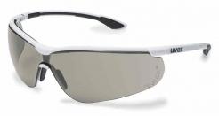 Brýle UVEX Nový SPORTSTYLE rámeček bílo-černý nemlživé proti poškrábání šedé