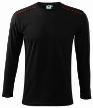 Triko Long Sleeve bavlna 180g unisex černé