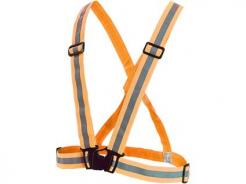 Kříž výstražný WOTA elastický reflexní oranžový