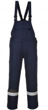 Ochranné kalhoty BIZFLAME PLUS s laclem antistatické nehořlavé odolné elektrickém oblouku reflexní pruhy tmavě modré