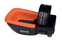 Nákoleník Fento 200 PRO ergonomický pogumovaný skelet oranžová pěnová výplň černý