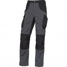 Montérkové kalhoty MACH SPIRIT 2 do pasu materiál BA/PES šedo/černé