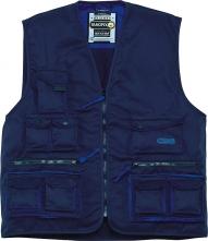 Vesta MACH 2 lehká 13 kapes tmavě modrá/světle modrá velikost XL