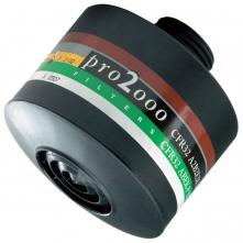 """Filtr SCOTT PRO2000 CF 32R A2B2E2K2P3 R D se závitem 40mm x 1,7"""" neprodyšná folie 10 let trvanlivost"""
