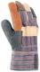 Rukavice ARDON ROCKY WINTER kombinované zateplené hovězí pestrá lícovka
