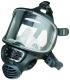 Celoobličejová maska SCOTT PROMASK Black boční připojení filtru černá