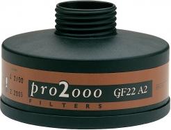 """Filtr SCOTT PRO2000 GF22 A2 se závitem 40 mm x 1,7"""""""