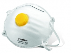 Tvarovaný ekonomický respirátor RESPAIR E FFP2V s výdechovým ventilem