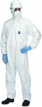 Kombinéza TYVEK CLASSIC Xpert jednorázová kapuce bílá velikost L
