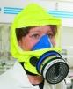 Úniková maska Sundström SR 77 ABEK1-CO-P3 mobilní provedení modrá taštička