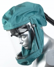 Náhradní polykarbonátový zorník k ventilovanému štítu dýchací kukle SCOTT TORNADO T-3
