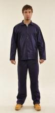 Montérkový komplet STANDARD blůza a kalhoty do pasu tmavě modrý velikost 54
