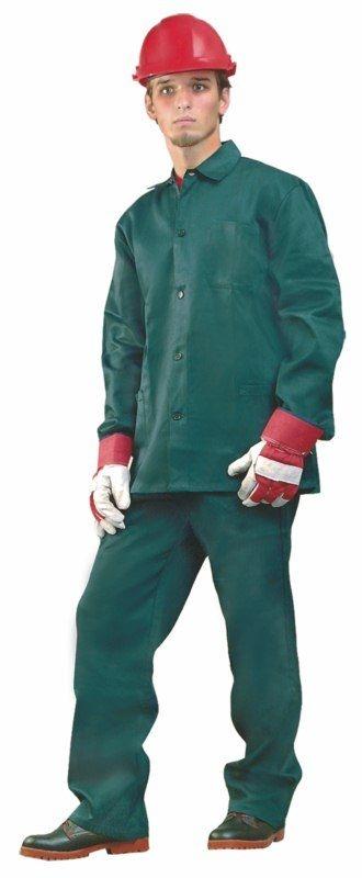 Montérkový komplet STANDARD blůza a kolhoty do pasu zelený