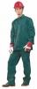 Montérkový komplet STANDARD blůza a kalhoty do pasu zelený velikost 58
