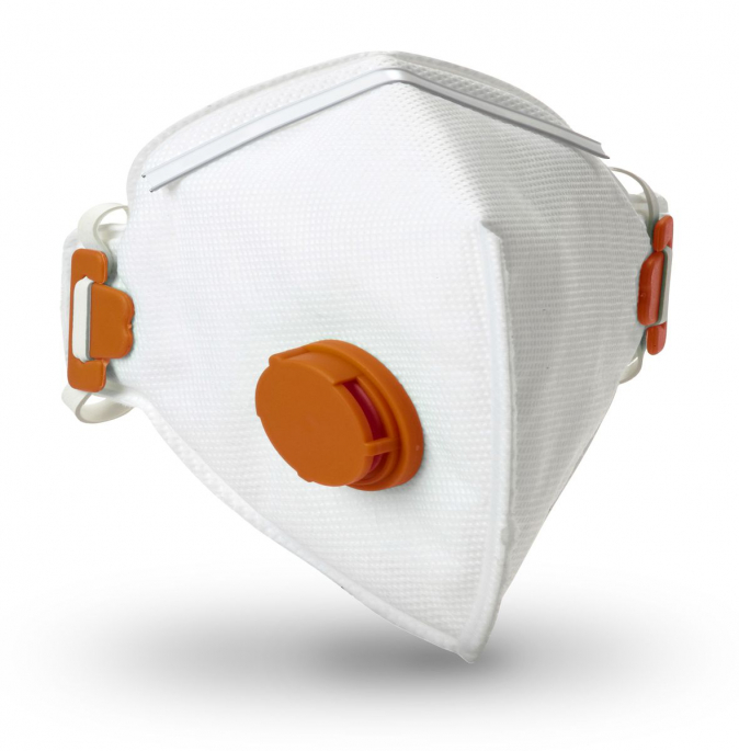 Respirátor RESPAIR F FFP3V výdechový ventil