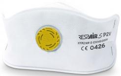 Respirátor RESPAIR S FFP2V ventil SLIM skládaný
