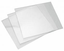 Sklo svářecí 110x90mm ochranné předsákové čiré