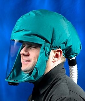 Kukla dýchací SCOTT TORNADO T-1 zelená