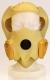 Požární úniková dýchací ochranná maska COGO žlutá