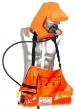 Únikový dýchací přístroj ELSA 15-B tlaková láhev 15 min taška oranžová