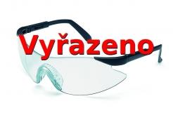 Brýle M2 nemlživé nárazuvzdorné čiré