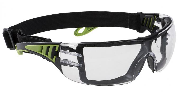 Brýle SPECTRA VU uzavřené acetátový nemlživý zorník