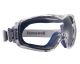 Ochranné uzavřené brýle NEUTRON nemlživé oděruvzdorné větrané čiré