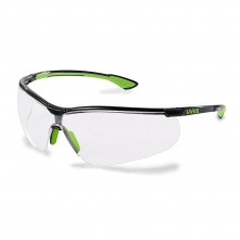 Brýle PROTECTOR SUNDOWNER černý rám čiré