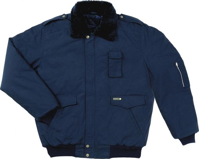 Bunda AVIATEUR pilotka do pasu tmavě modrá velikost XL