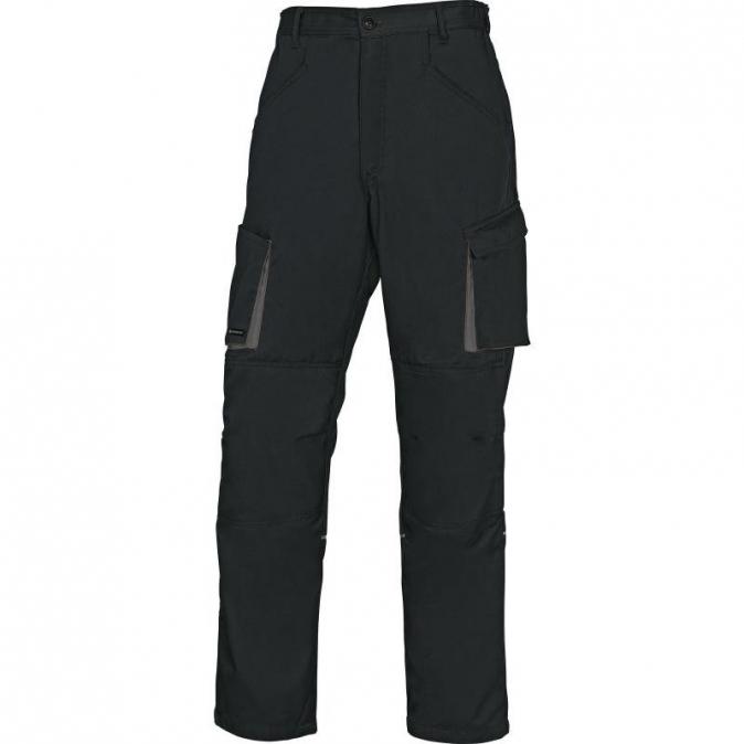 Montérkové kalhoty MACH 2 do pasu černé velikost L
