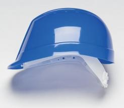 Přilba PROTECTOR BUMPMASTER 4 bodový plastový kříž modrá