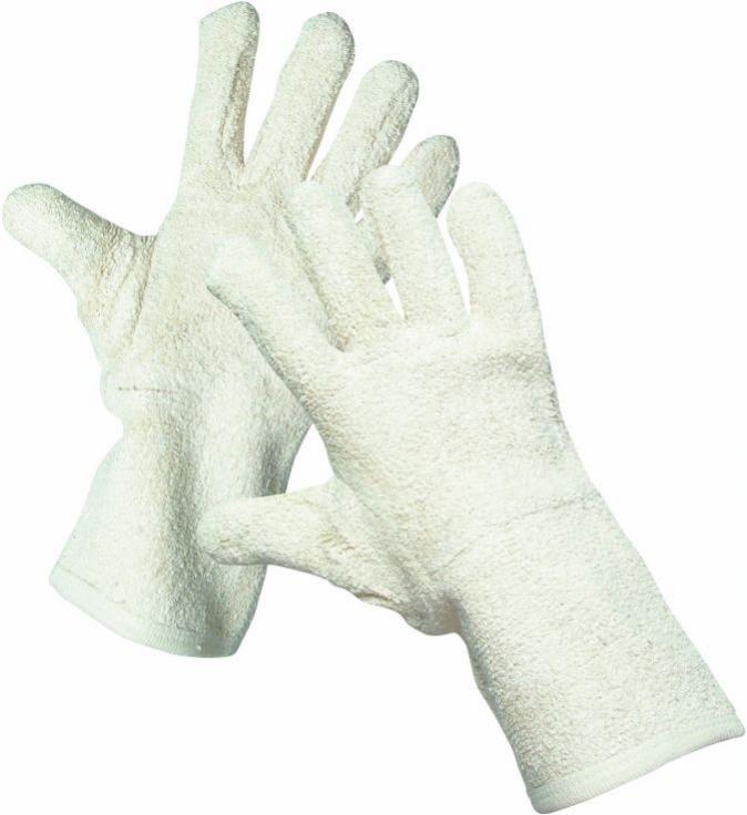Rukavice CERVA LAPWING protiřezné uzlíková bavlna dlouhé velikost 10