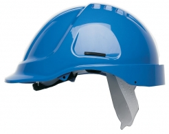 Přilba PROTECTOR STYLE 600 ABS ventilovaná modrá