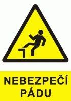 Tabulka Nebezpečí úrazu pádem